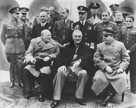ялтинская конференция кратко