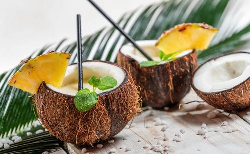как вскрыть кокос в домашних условиях