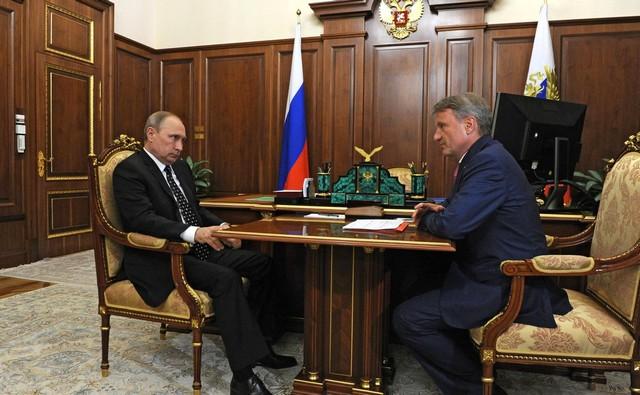 Путин и Герман Греф