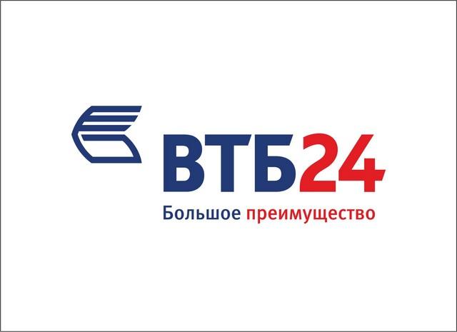 ВТБ 24 лого