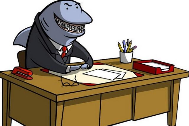 отклонение кредита акулой