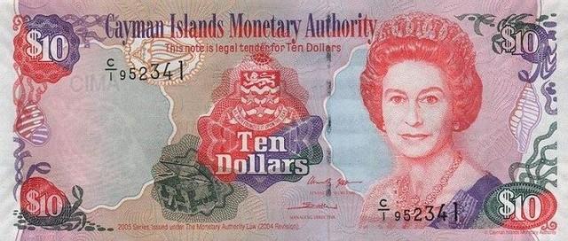 Доллар кайманских островов