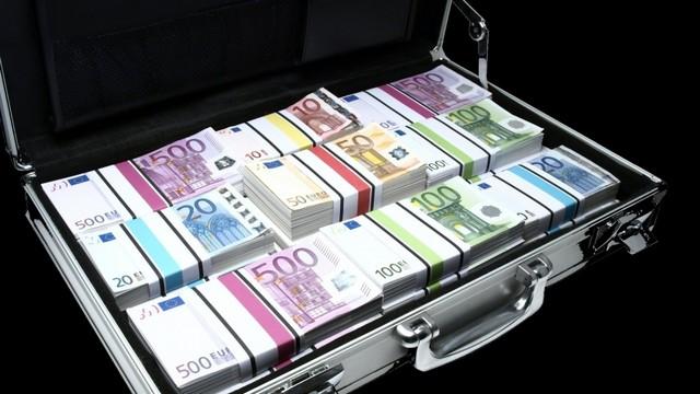 чемодан денег - евро