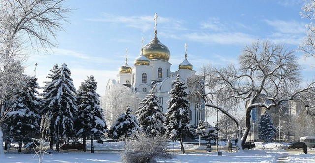 Зимний Краснодар