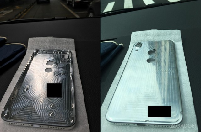 металлический корпус iphone 8