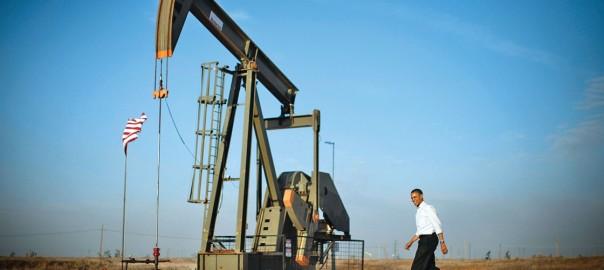 обама качает нефть