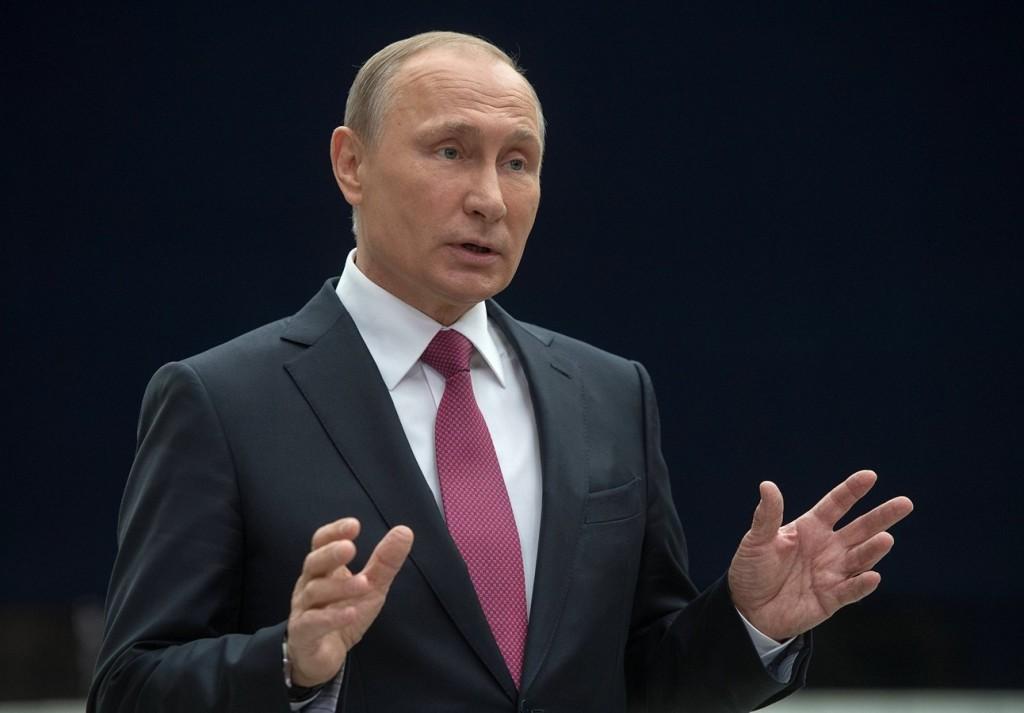 Путин вещает