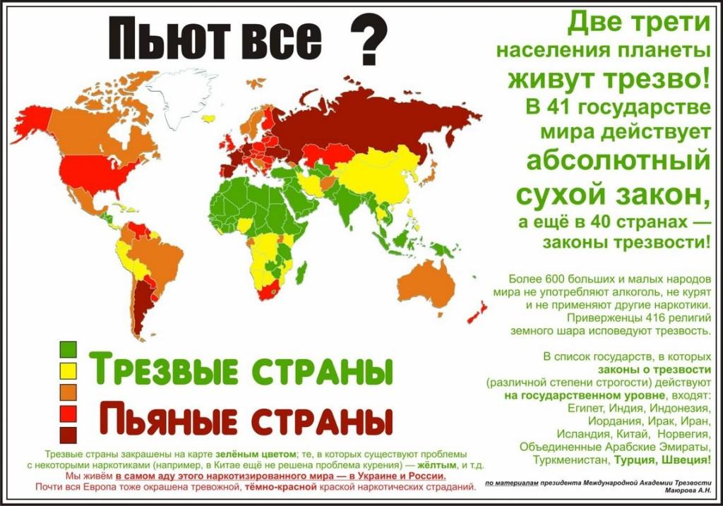 трезвые страны