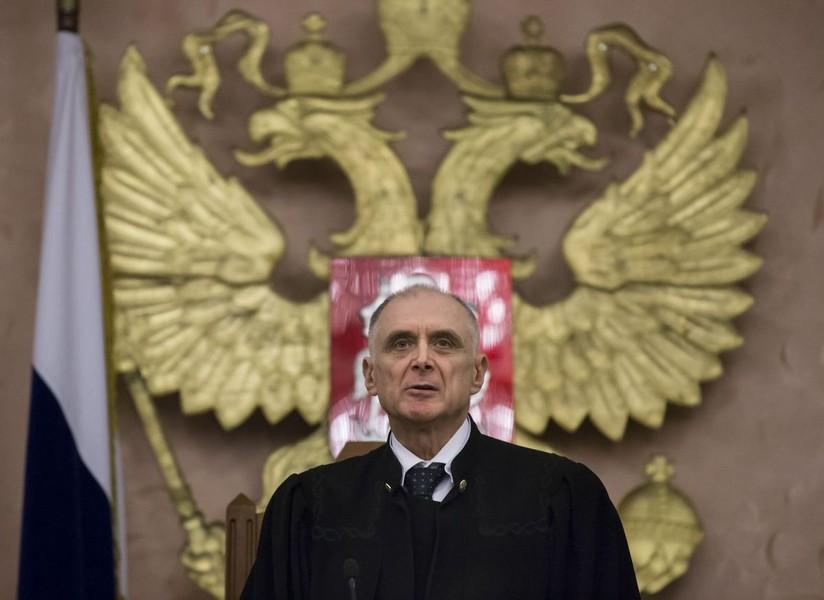 судья и герб