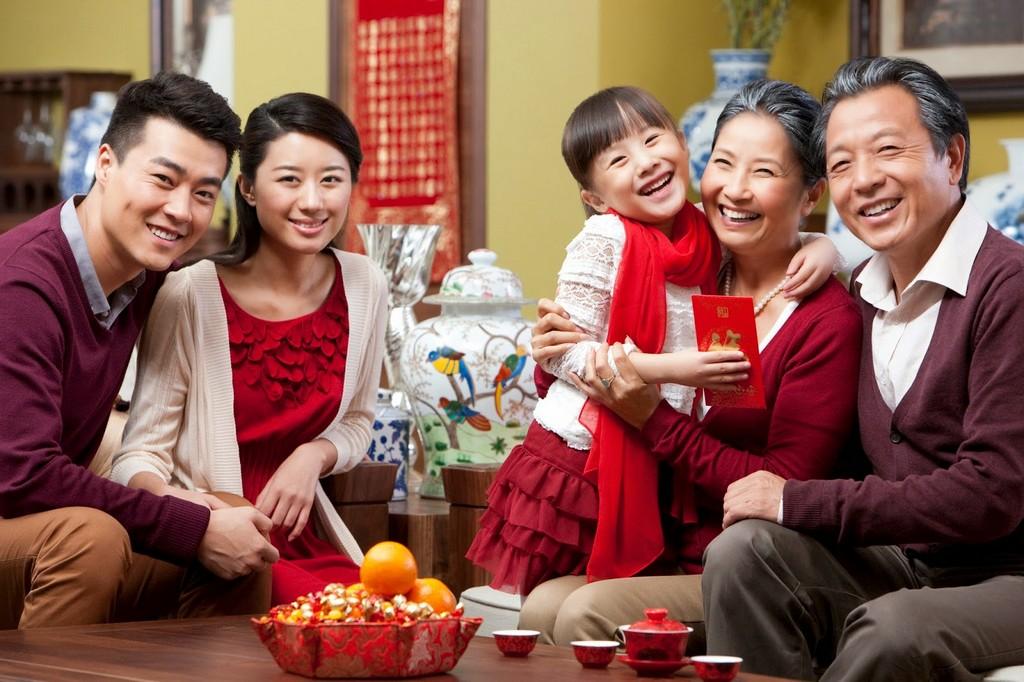 Традиции на НГ в китае
